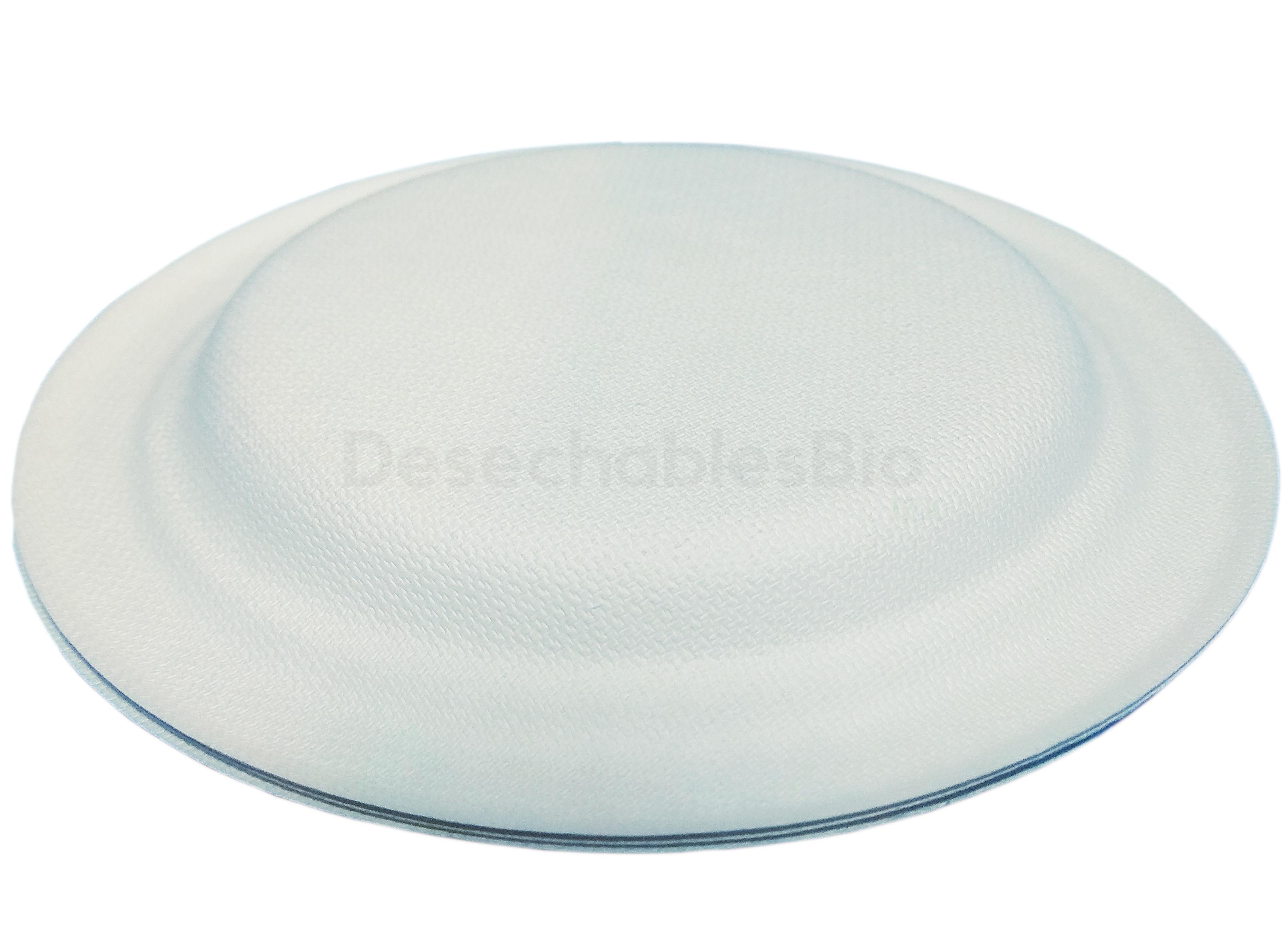 Desechables Bio México   Plato Pastelero 6'' Biodegradables de Bagazo de Caña 5