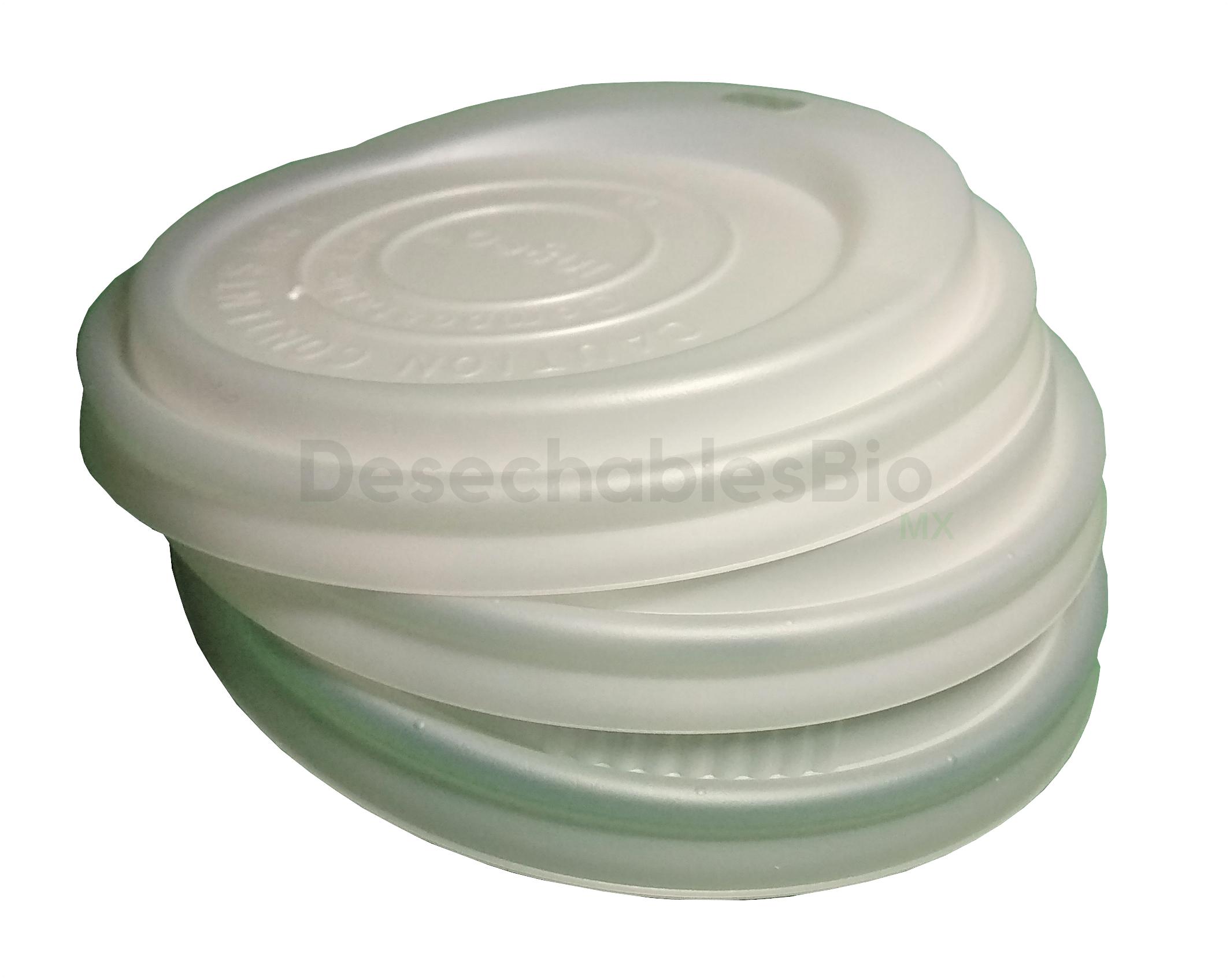 Desechables Bio México | Tapas Vasos Desechables 10-20 Oz. Biodegradables De PLA 2