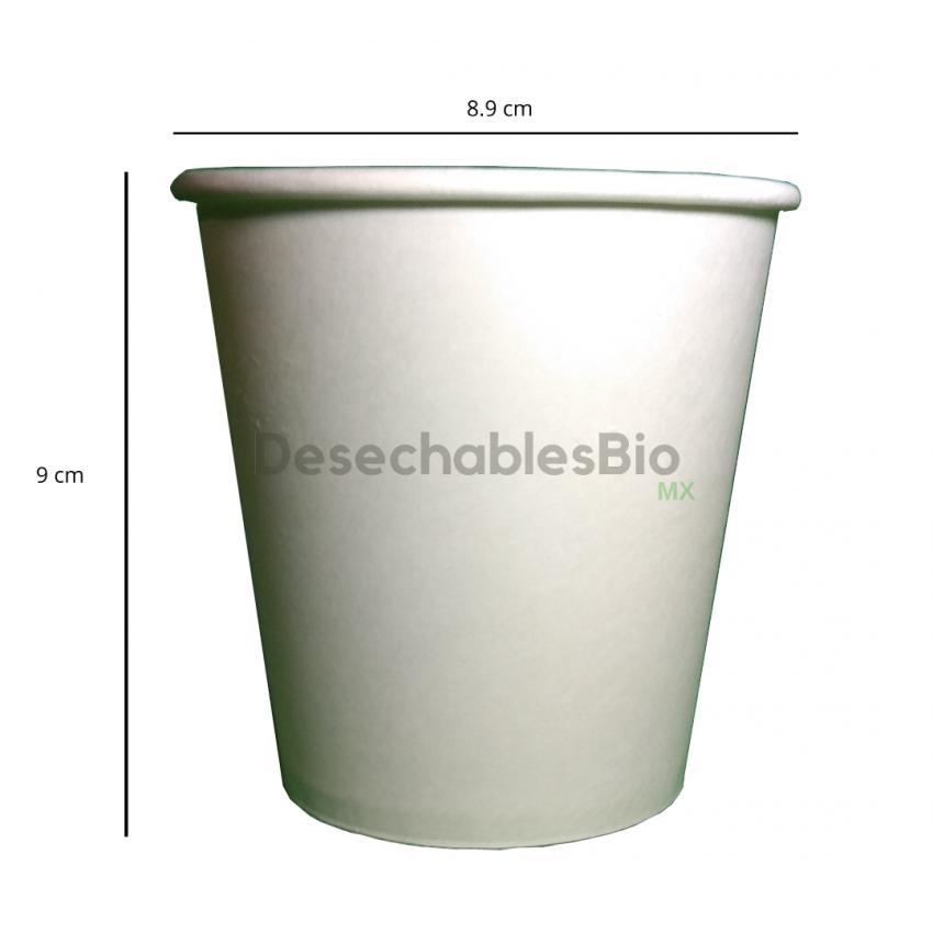 Desechables Bio México | Vaso Térmico 10 oz. Biodegradable 2