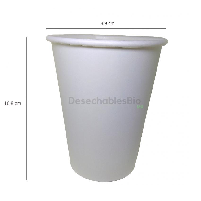 Desechables Bio México | Vaso Térmico 12 oz. Biodegradable 2