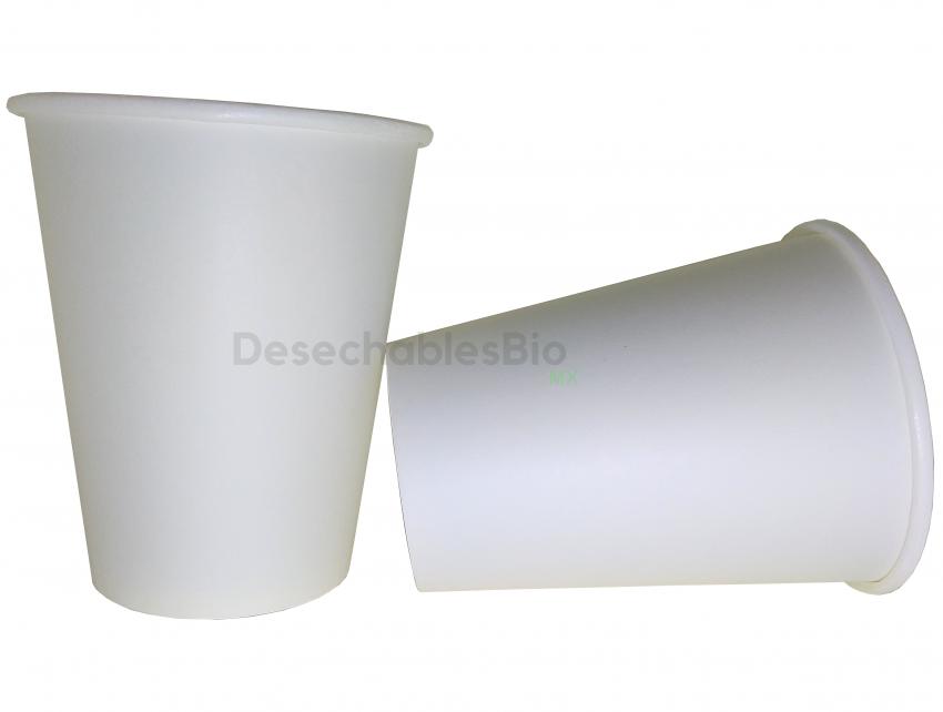 Desechables Bio México   Vaso Térmico 8 oz. Biodegradable 1