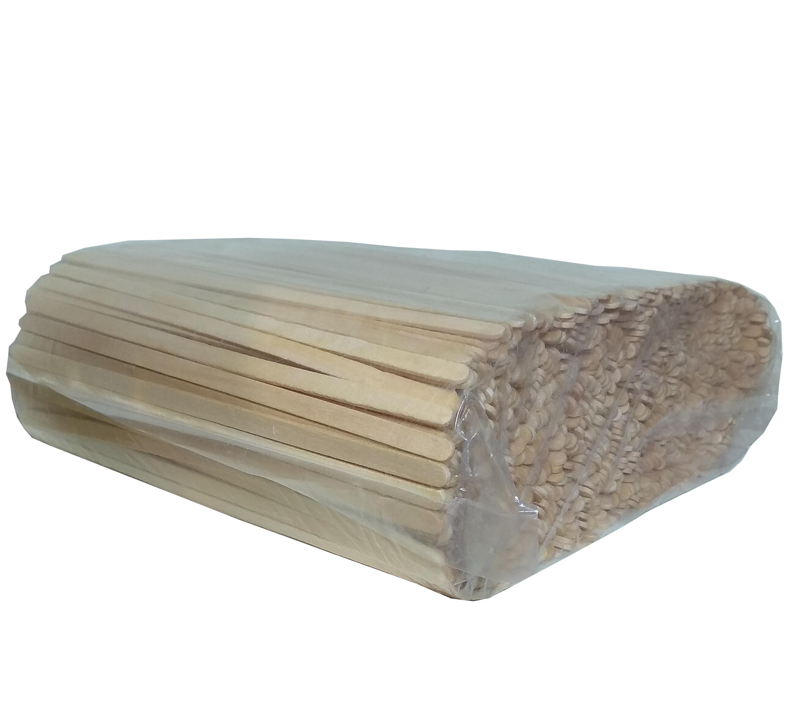 Desechables Bio México   Agitador de Madera Biodegradable 4