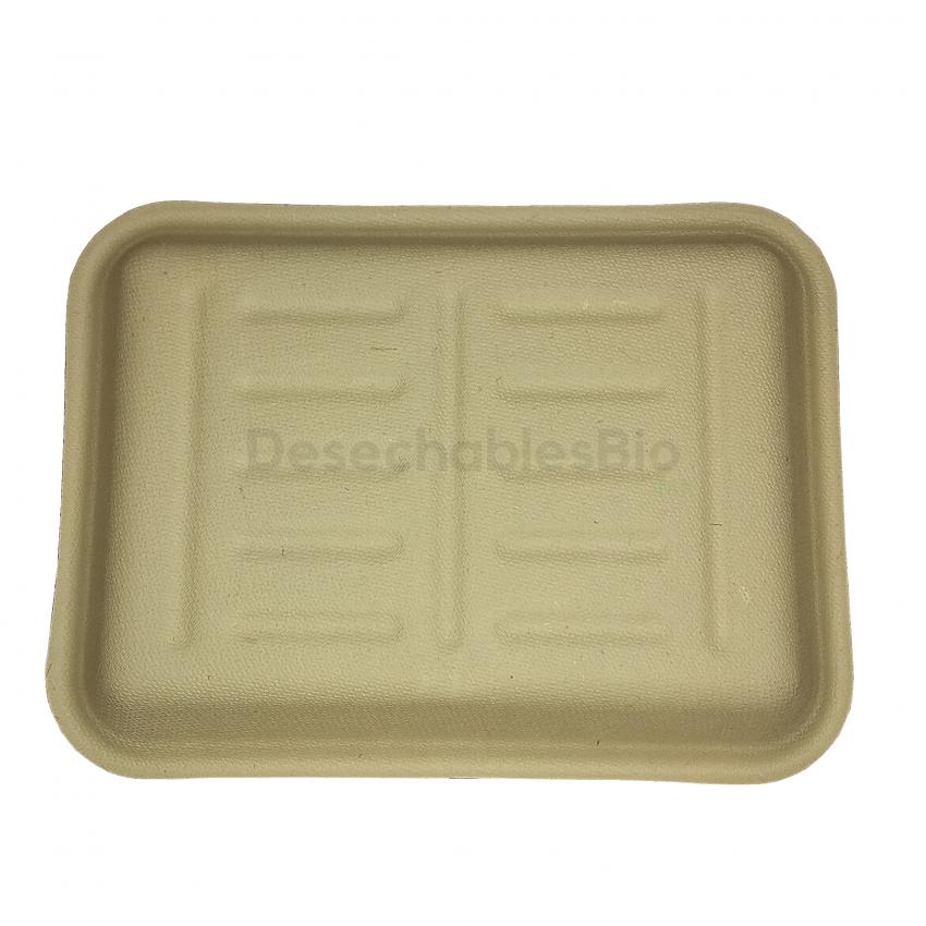 Desechables Bio México | Charola 350 ml.19x14cm Biodegradable 3