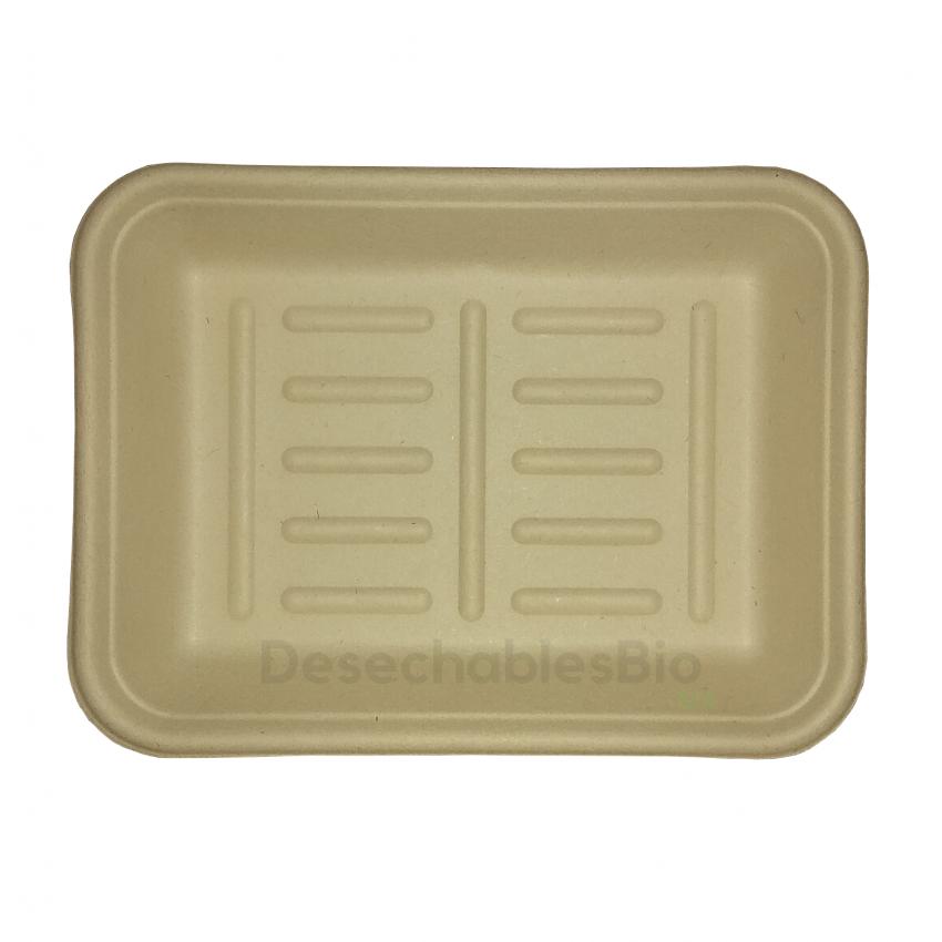 Desechables Bio México | Charola 350 ml.19x14cm Biodegradable 4