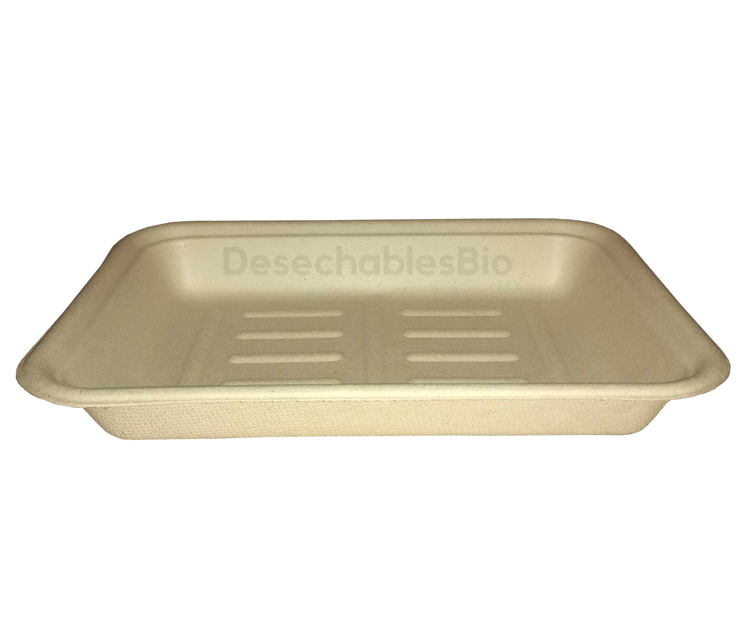 Desechables Bio México | Charola 350 ml.19x14cm Biodegradable 5