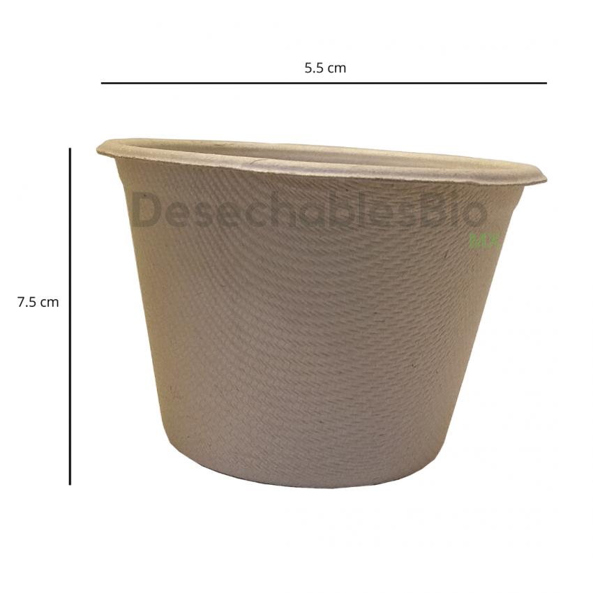 Desechables Bio México | Copa souffle 5 oz. Biodegradable 2