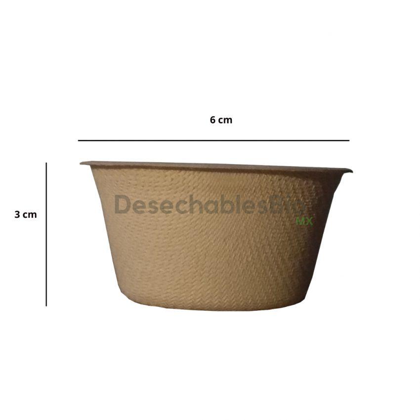 Desechables Bio México | Copa souffle 2 oz. Biodegradable 1