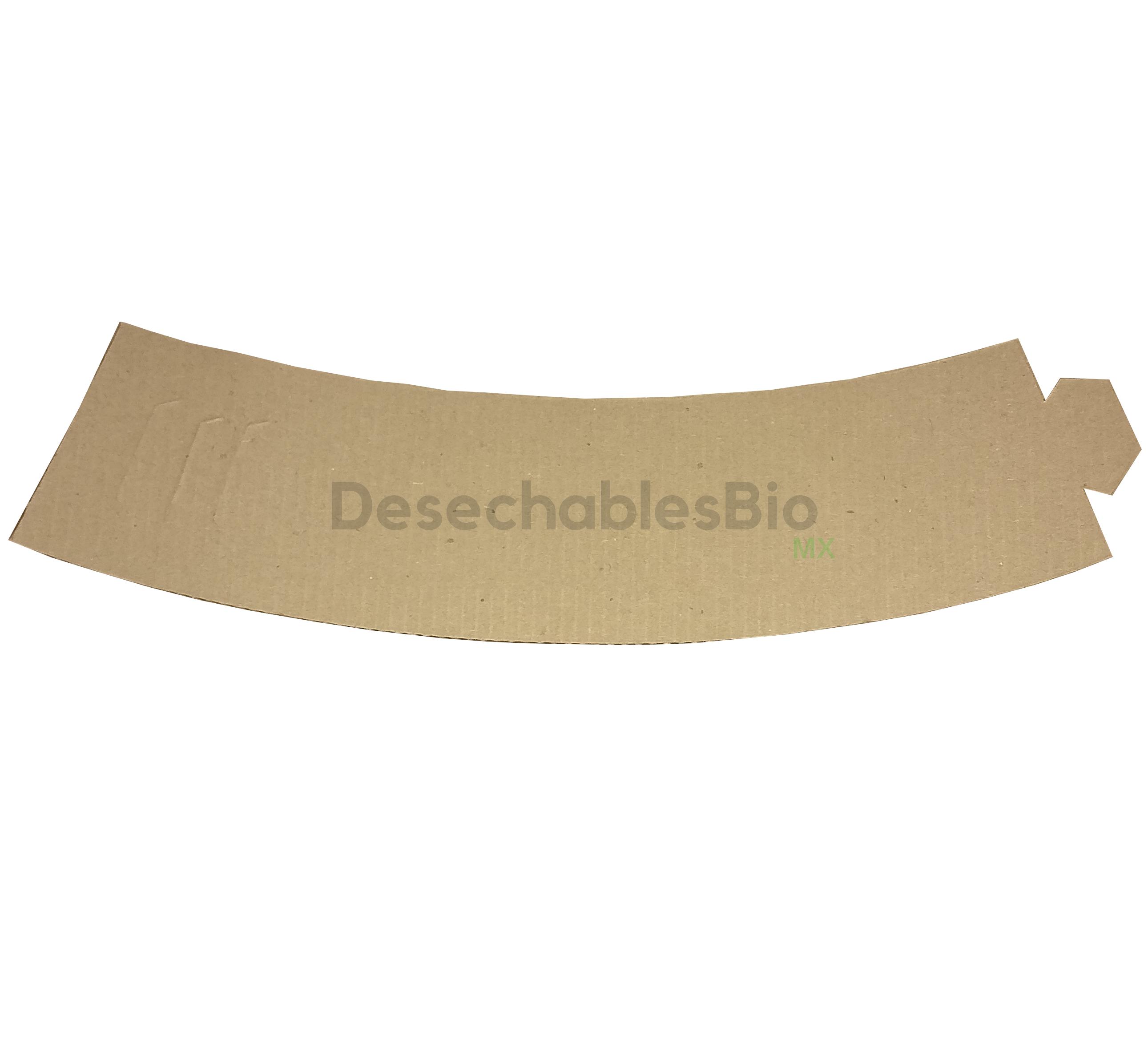 Desechables Bio México | Cintillo protector vaso térmico 8 a 20 oz. 6