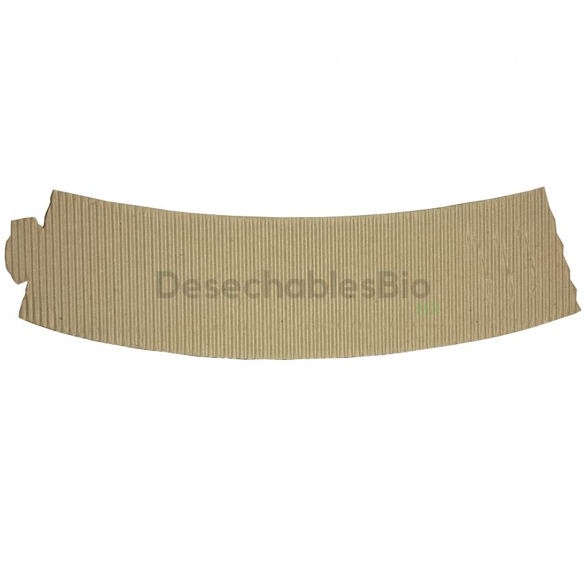 Desechables Bio México | Cintillo protector vaso térmico 8 a 20 oz. 5