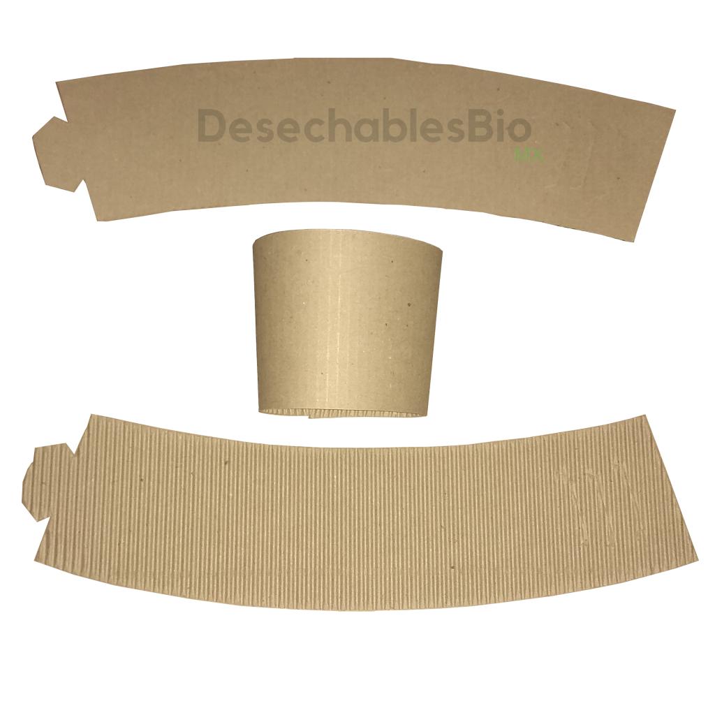 Desechables Bio México | Cintillo protector vaso térmico 8 a 20 oz. 4