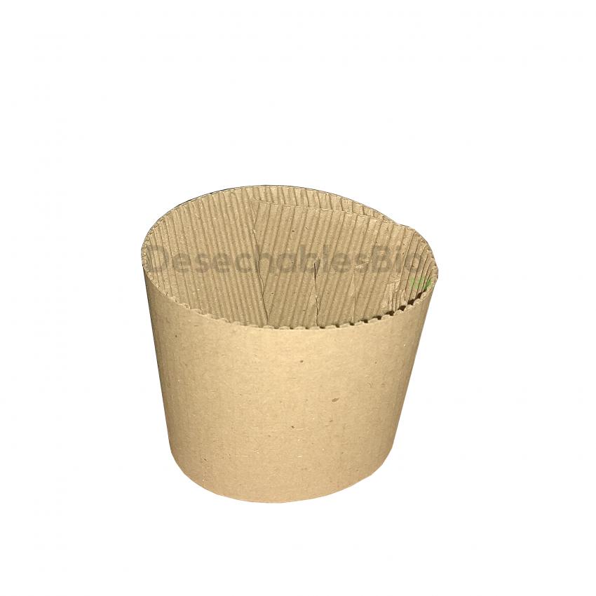 Desechables Bio México | Cintillo protector vaso térmico 8 a 20 oz. 1