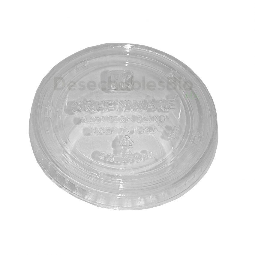 Desechables Bio México   Copa Soufflé 2 Oz. Con Tapa Transparente 3