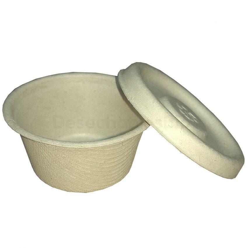 Desechables Bio México | Tapa copa souffle 2 oz. Biodegradable 2