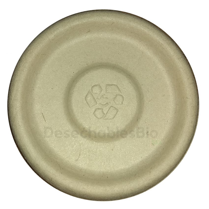 Tapa copa souffle 2 oz. Biodegradable