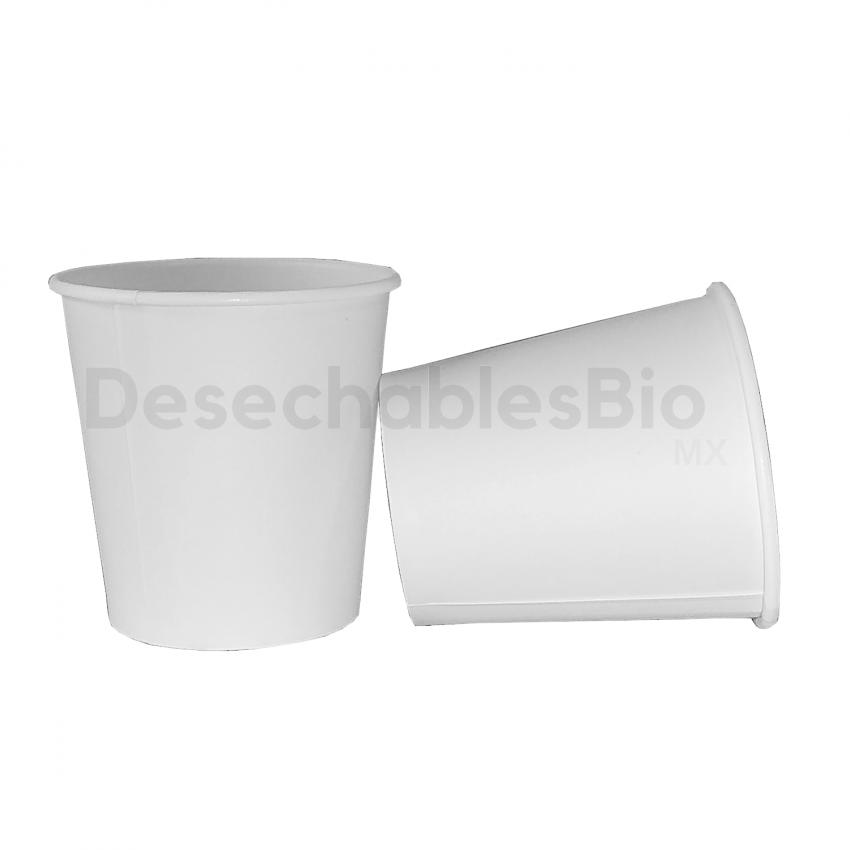 Desechables Bio México   Vaso Térmico 4 oz. Biodegradable 1
